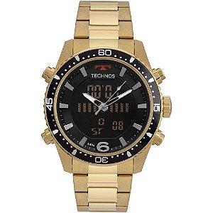Relógio Technos Masculino Connect Srab 4p Dourado Smartwatch ... f3d27680c1