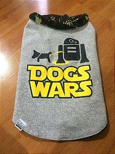 Moletom Colete Dupla face - Dog Wars