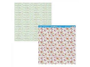 SCRAPBOOK LITOARTE DUPLA FACE 30,5X30,5 SD 1079