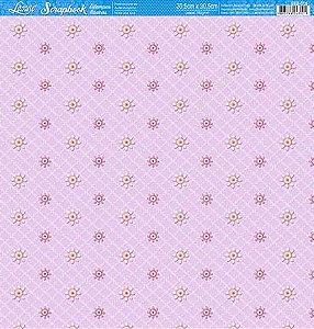 SCRAPBOOK LITOARTE UMA FACE 30,5X30,5 SBB 016