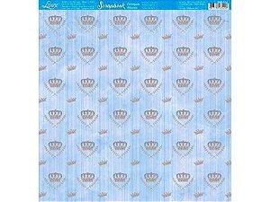 SCRAPBOOK LITOARTE UMA FACE 30,5X30,5 SBB 132
