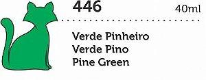 VERNIZ VITRAL GATO PRETO VERDE PINHEIRO 40ML