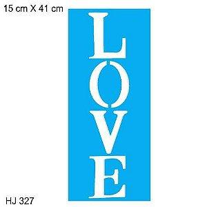STENCIL JOIA HJ 327 15X41