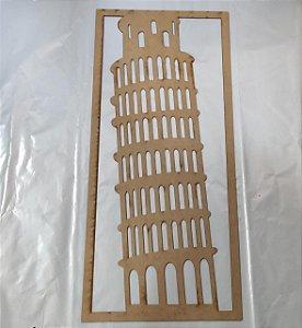QUADRO TORRE DE PISA 60X27CM