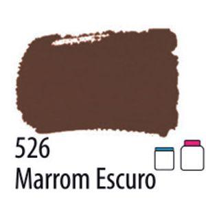 TINTA PVA FOSCA 100ML 526 MARROM ESCURO ACRILEX