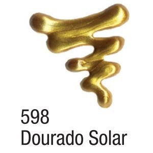 DIMENSIONAL RELEVO 3D – METALLIC 35ML DOURADO SOLAR