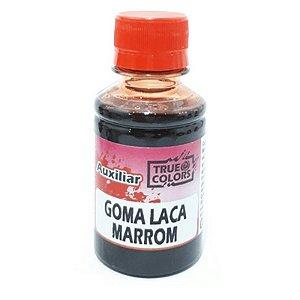 TRUE COLORS - GOMA LACA 100ML MARROM