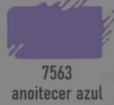 TRUE COLORS - TINTA ACRÍLICA ARTCOLORS 60ML ANOITECER AZUL