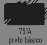 TRUE COLORS - TINTA ACRÍLICA ARTCOLORS 60ML PRETO BASICO