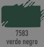 TRUE COLORS - TINTA ACRÍLICA ARTCOLORS 60ML VERDE NEGRO