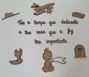 RECORTES - KIT PEQUENO PRINCIPE - FOI O TEMPO