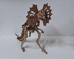 DILOPHOSAURUS 3D - FÓSSIL