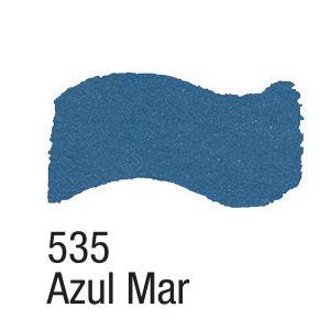 TINTA METAL COLORS 60ML ACRILEX AZUL MAR