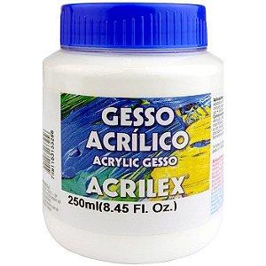 GESSO ACRÍLICO 250G ACRILEX