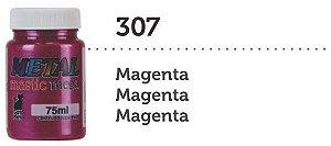 METAL MASTIC 75 ML MAGENTA MEGA GATO PRETO