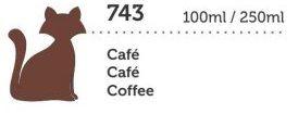 TINTA MEGA PVA FOSCA 250ML CAFE GATO PRETO