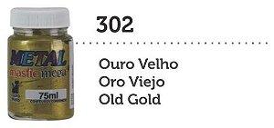 METAL MASTIC 75 ML OURO VELHO MEGA GATO PRETO