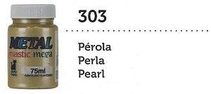 METAL MASTIC 75 ML PEROLA MEGA GATO PRETO