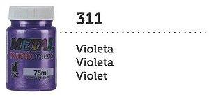 METAL MASTIC 75 ML VIOLETA MEGA GATO PRETO