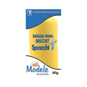 MASSA PARA BISCUIT AMARELO 90G