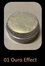 PÁTINA SILVERBRIGHT 10G - 01 OURO EFFECT