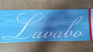 STENCIL 10X30 - PALAVRAS LAVABO