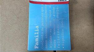 STENCIL 20X25 - FRASE SIGINIFICADO FAMILIA