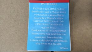 STENCIL 20X25 - RELIGIÃO ORAÇÃO PAI NOSSO