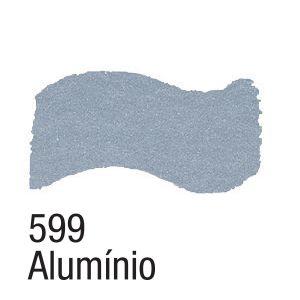 TINTA METAL COLORS 60ML ACRILEX ALUMINIO