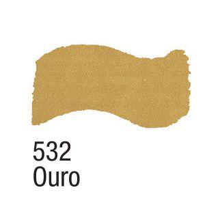 TINTA METAL COLORS 60ML ACRILEX OURO