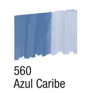 BETUME COLORS 560 AZUL CARIBE ACRILEX 60ML