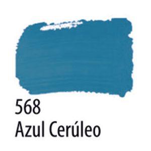 TINTA PVA FOSCA 100ML 568 AZUL CERULEO ACRILEX