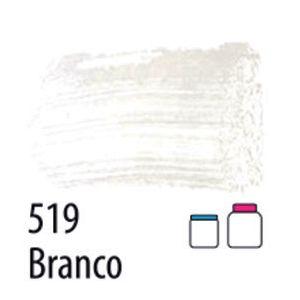 TINTA PVA FOSCA 100ML 519 BRANCO ACRILEX