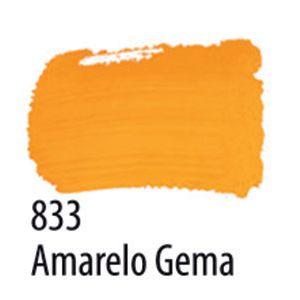 TINTA PVA FOSCA 100ML 833 AMARELO GEMA ACRILEX
