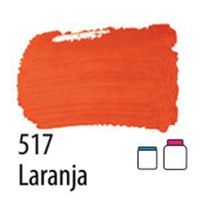 TINTA PVA FOSCA 100ML 517 LARANJA ACRILEX