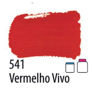 TINTA PVA FOSCA 100ML 541 VERMELHO VIVO ACRILEX