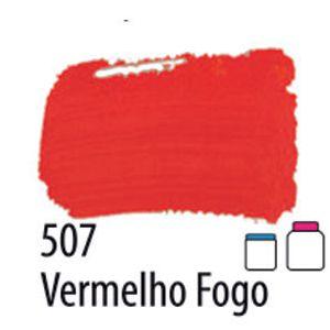 TINTA PVA FOSCA 100ML 507 VERMELHO FOGO ACRILEX
