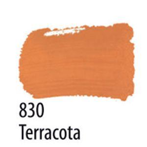 TINTA PVA FOSCA 100ML 830 TERRACOTA ACRILEX