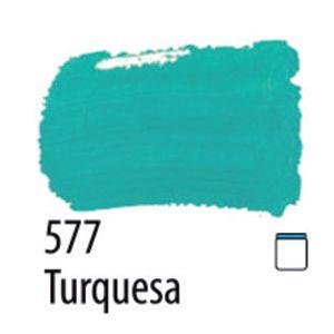 TINTA PVA FOSCA 100ML 577 TURQUESA ACRILEX