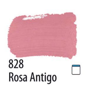 TINTA PVA FOSCA 100ML 828 ROSA ANTIGO ACRILEX