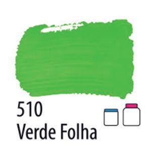 TINTA PVA FOSCA 100ML 510 VERDE FOLHA ACRILEX