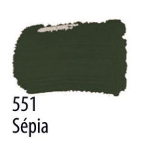 TINTA PVA FOSCA 100ML 551 SEPIA ACRILEX