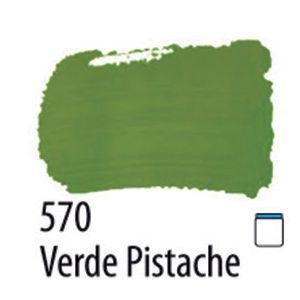 TINTA PVA FOSCA 100ML 570 VERDE PISTACHE ACRILEX