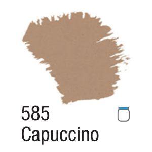TINTA ACRÍLICA FOSCA 60ML 585 CAPUCCINO ACRILEX