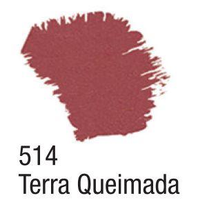 TINTA ACRÍLICA FOSCA 60ML 514 TERRA QUEIMADA ACRILEX