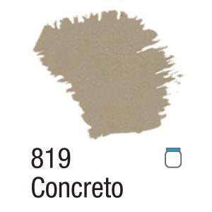 TINTA ACRÍLICA FOSCA 60ML 819 CONCRETO ACRILEX