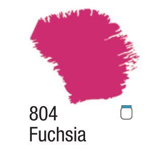 TINTA ACRÍLICA FOSCA 60ML 804 FUCHSIA ACRILEX