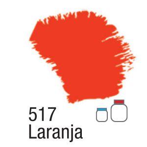 TINTA ACRÍLICA FOSCA 60ML 517 LARANJA ACRILEX