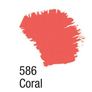 TINTA ACRÍLICA FOSCA 60ML 586 CORAL ACRILEX