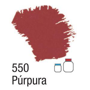 TINTA ACRÍLICA FOSCA 60ML 550 PURPURA ACRILEX